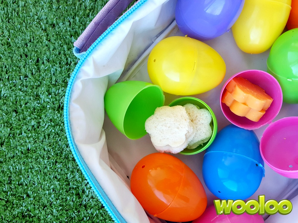 Lunch dans un carton d'oeufs wooloo