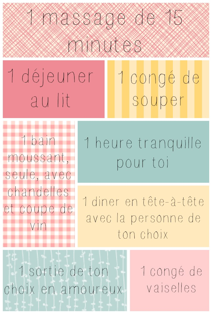 Coupons récompenses pour maman wooloo