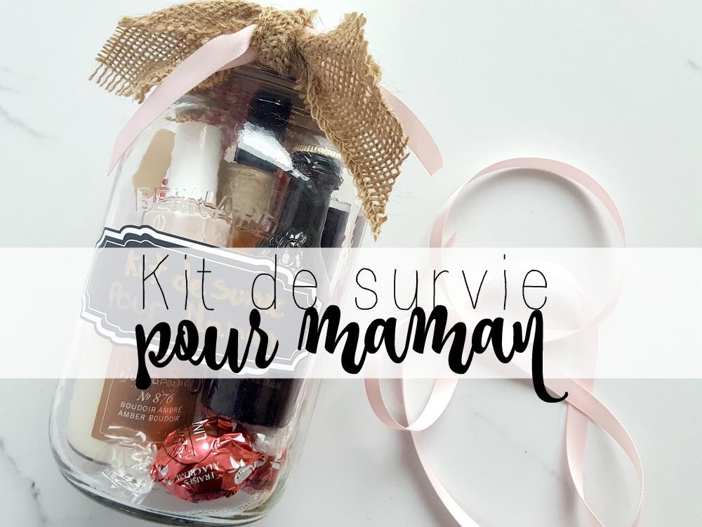 Un kit de survie pour maman dans un pot Mason