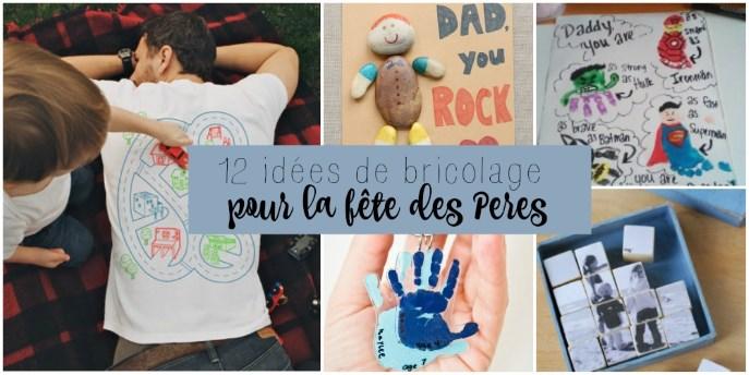 12 Idées De Bricolage Pour La Fête Des Pères Wooloo