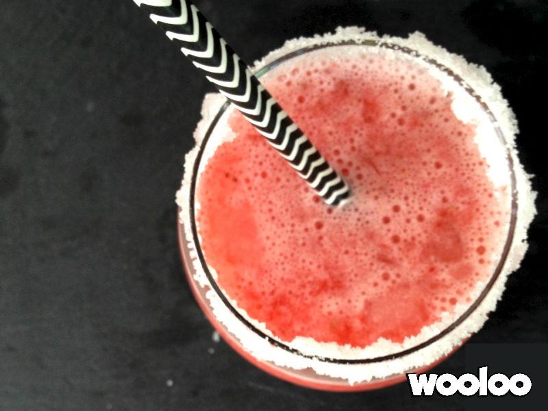 Slush pétillante fraise et citron wooloo