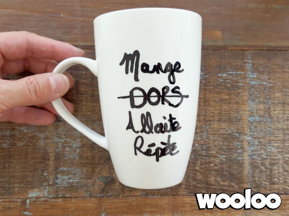tasse personnalisée wooloo
