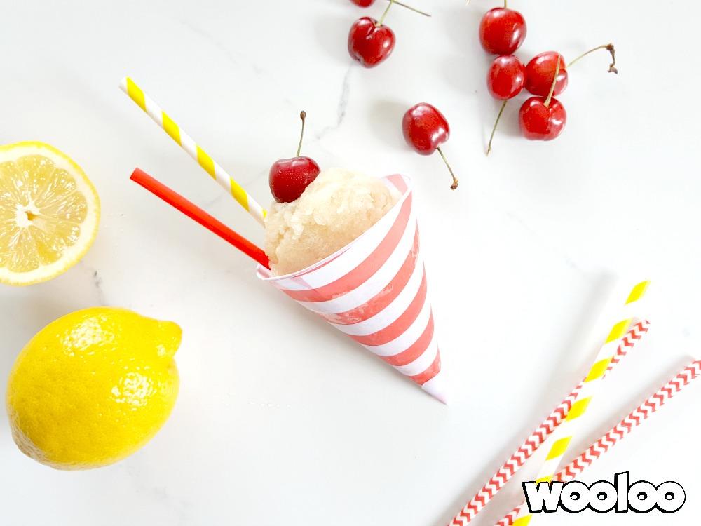 Sorbet au thé glacé & au citron wooloo