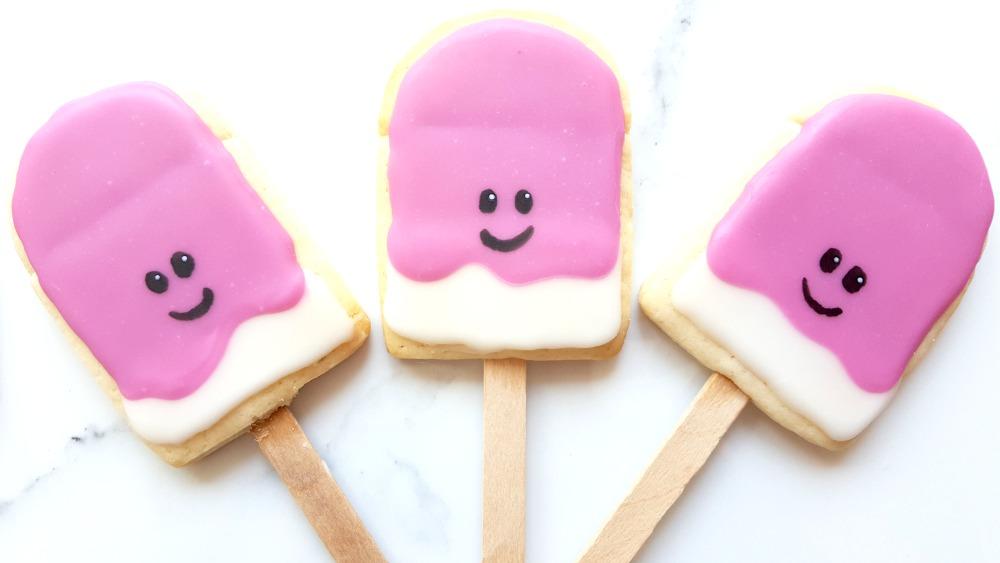 J'ai fait mes premiers biscuits Pinterest