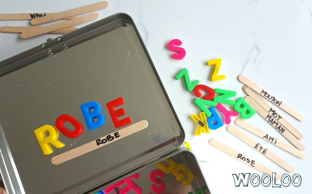 boite de jeux aimantés wooloo