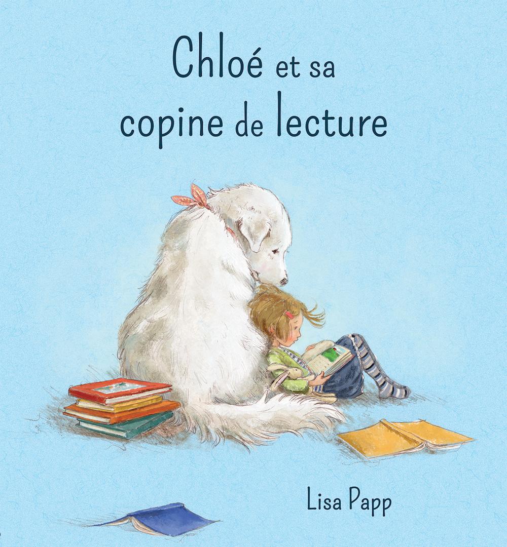 Chloé et sa copine de lecture, un petit livre tout doux et parfait pour la rentrée des classes