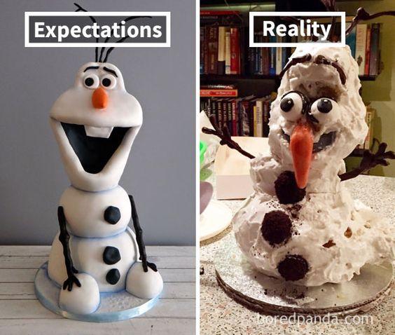 Pinterest VS la réalité / wooloo