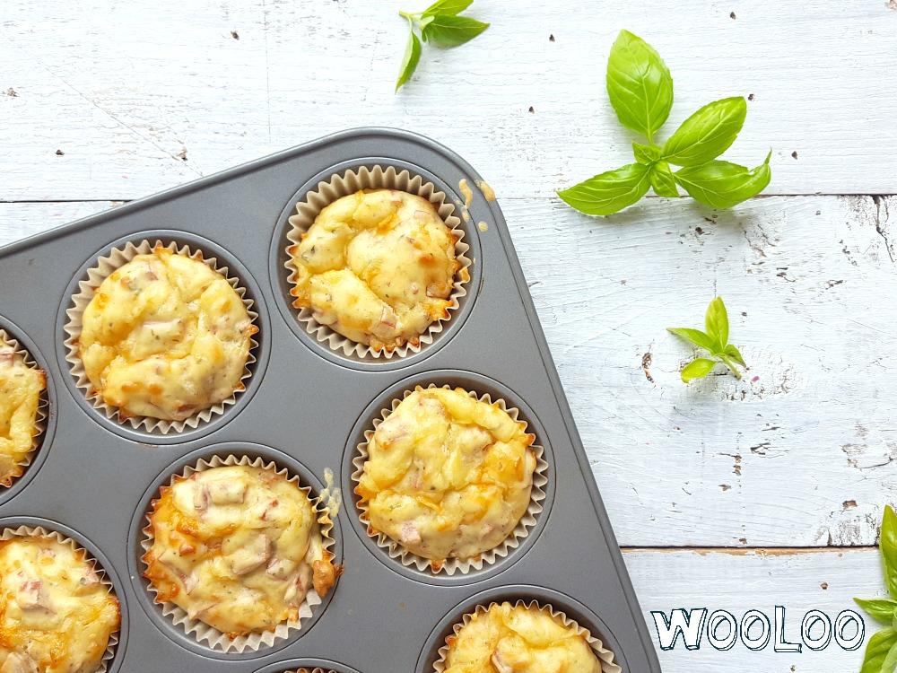 Muffins à la pizza / wooloo