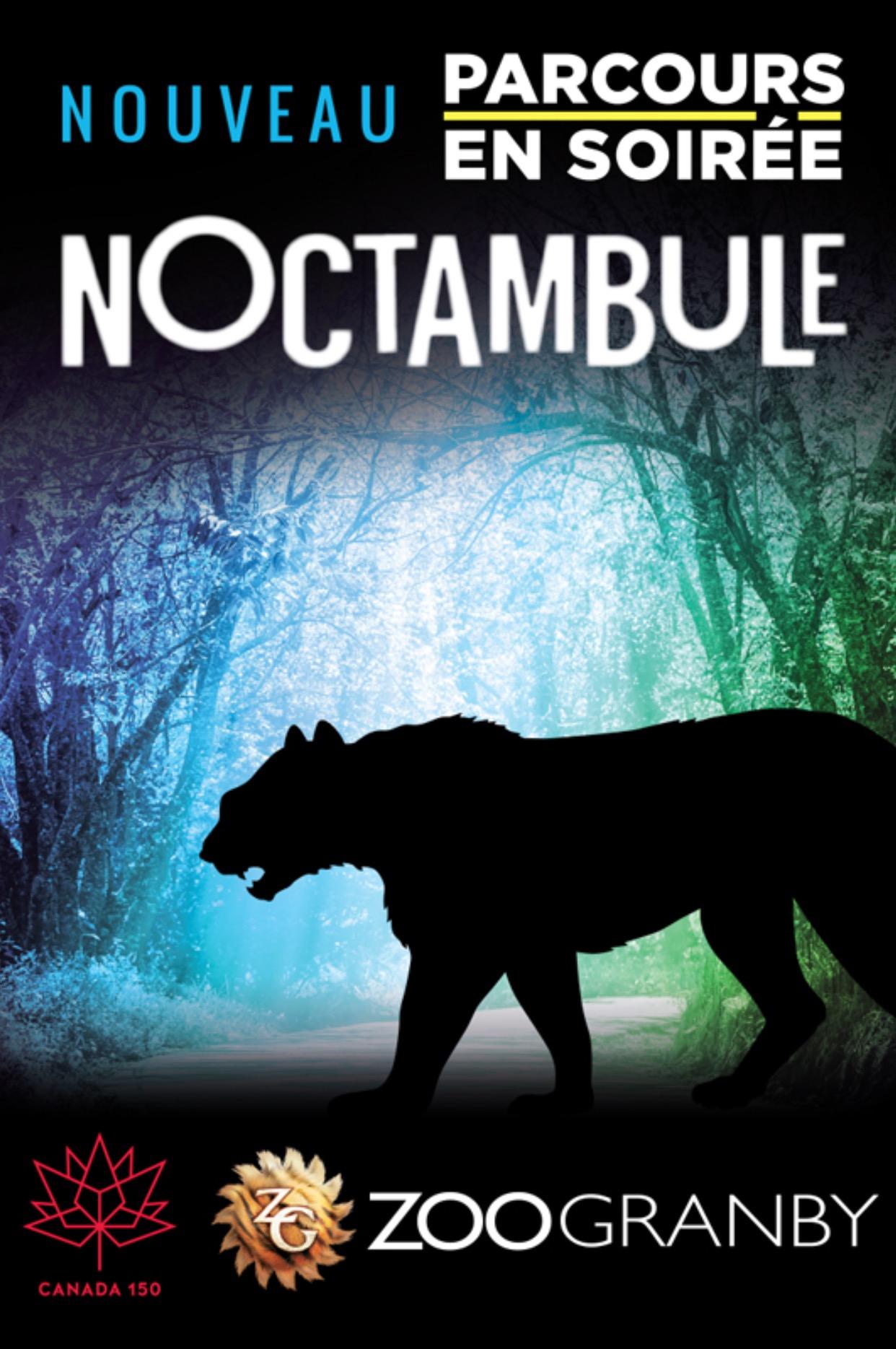 Concours Noctambule au Zoo de Granby