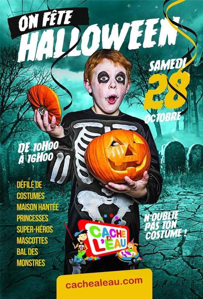 Concours MÉGA party d'Halloween au Cache-à-l'eau