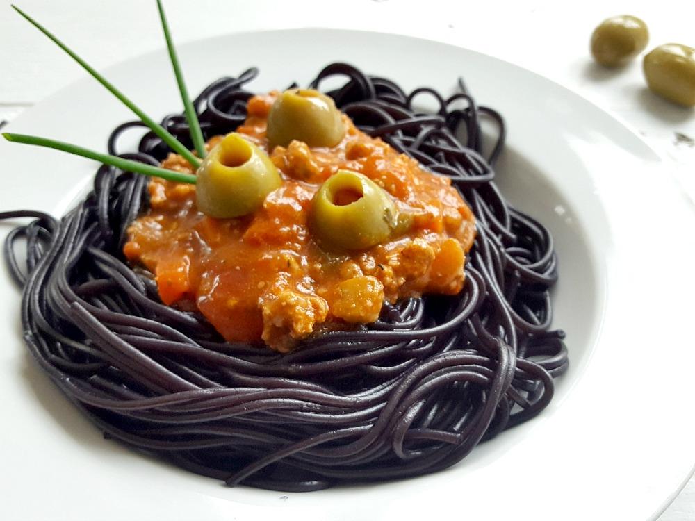 Spaghettis monstrueux