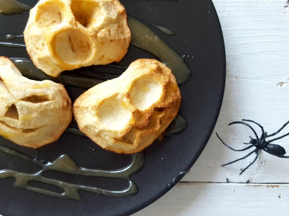 Vieille face de pomme dans son caramel / wooloo