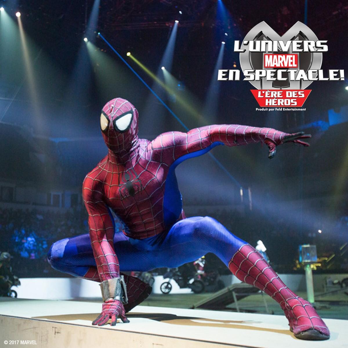 L'univers Marvel en spectacle / wooloo
