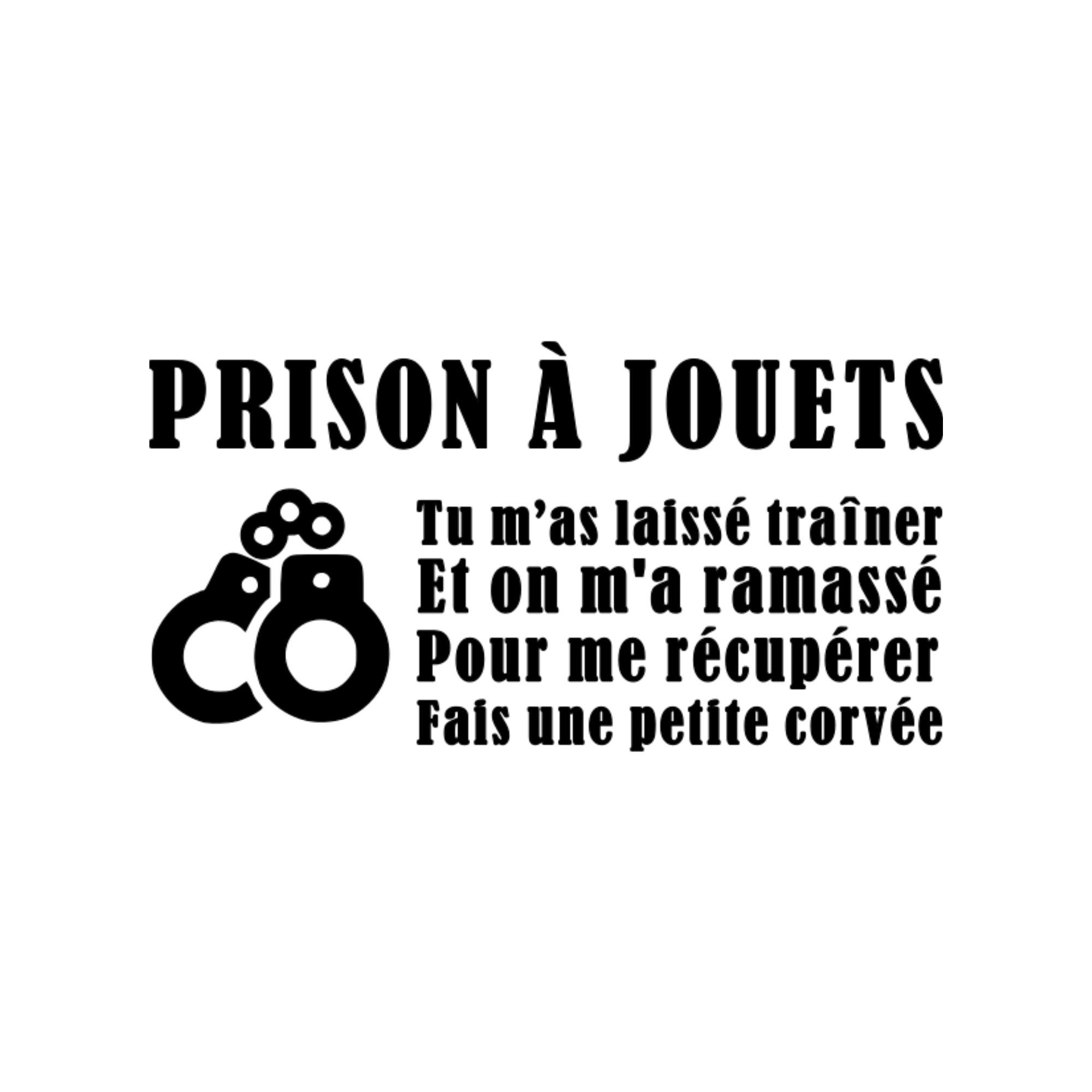 prison à jouets wooloo