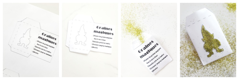 enveloppe de graines magiques / wooloo