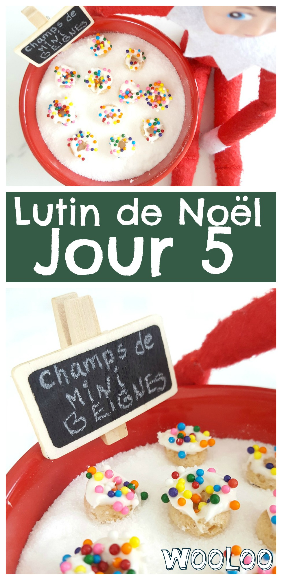 mini beignes de lutin / wooloo