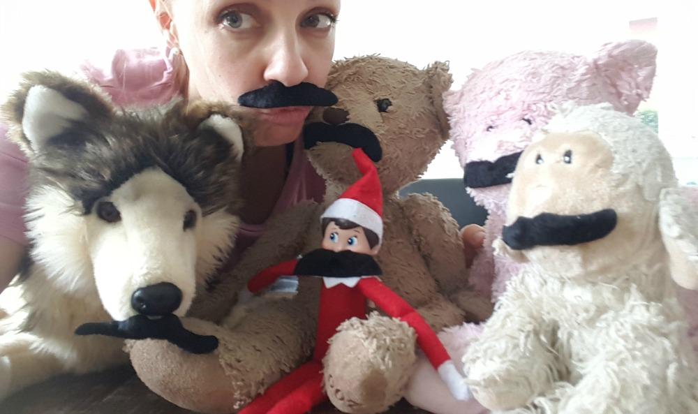 Le lutin et les moustaches