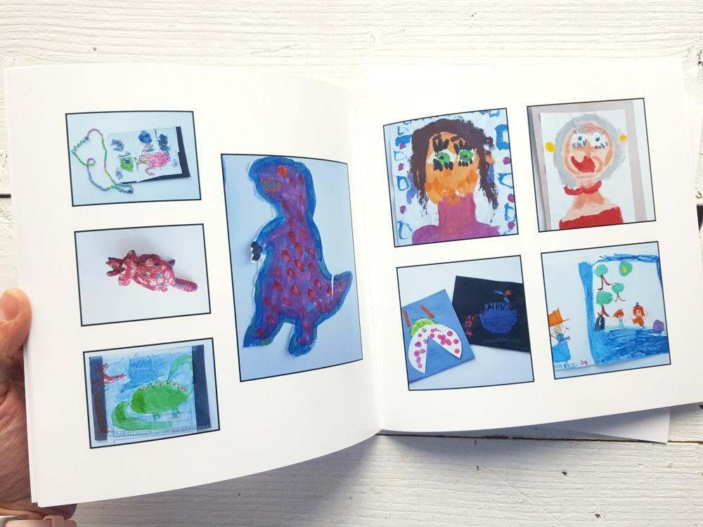 Livre-photos pour conserver les bricolages / wooloo