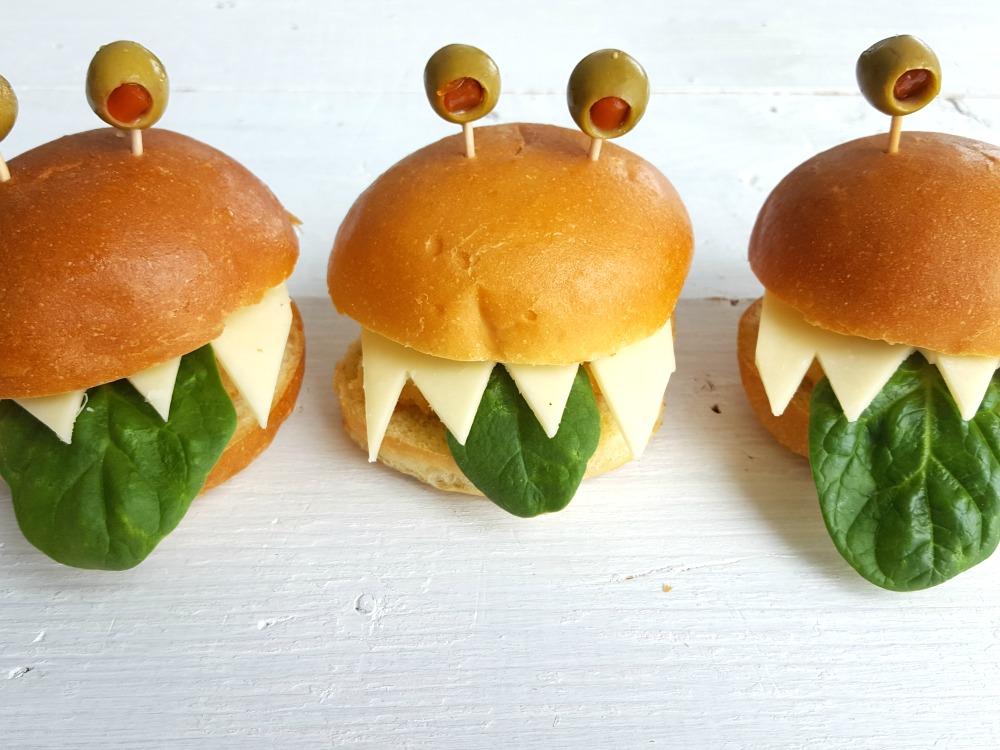 mini monstre burger / wooloo