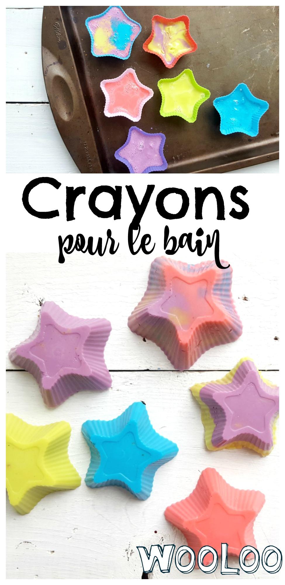 crayons de bain / wooloo