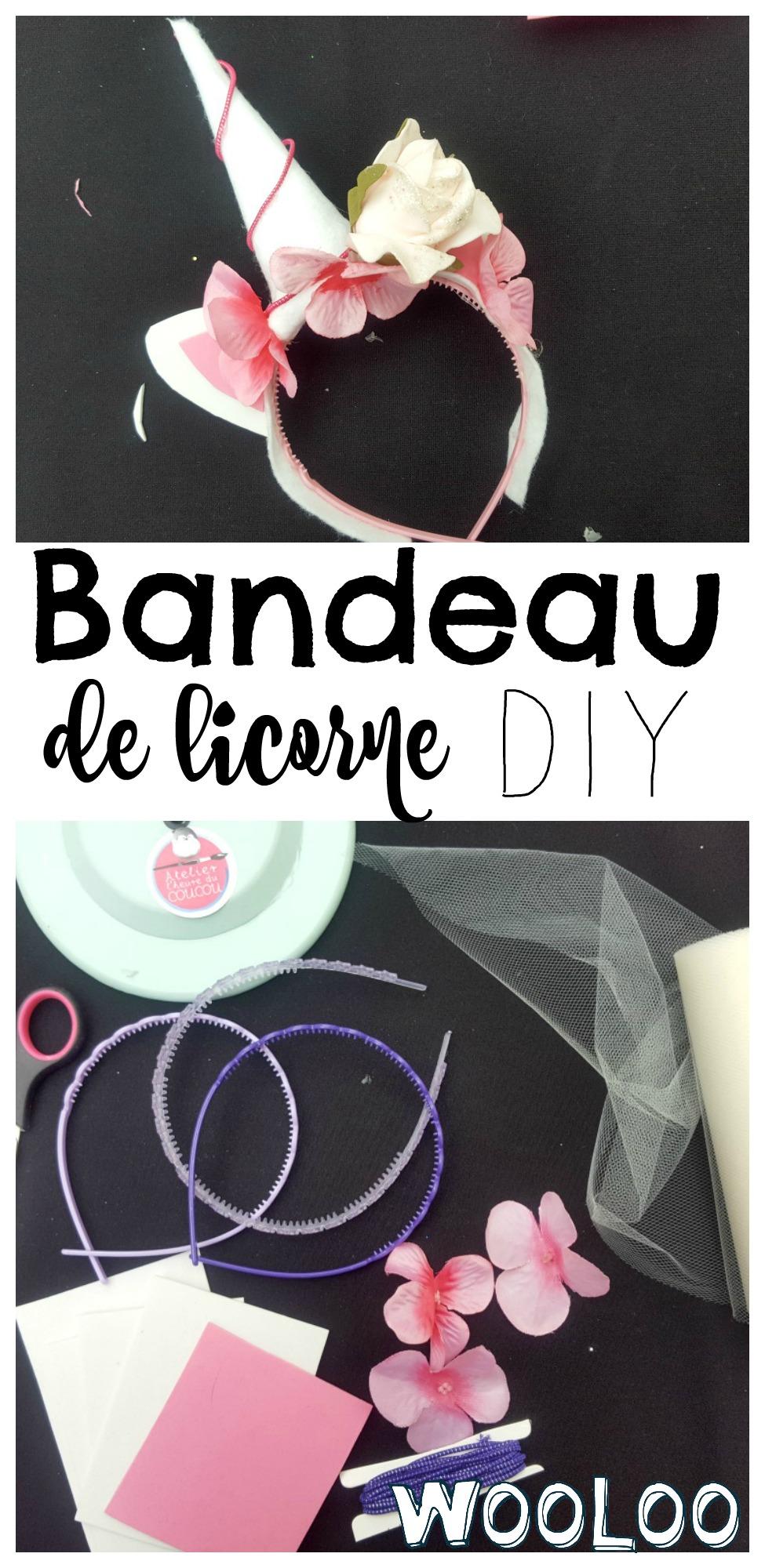 Bandeau de licorne DIY / wooloo