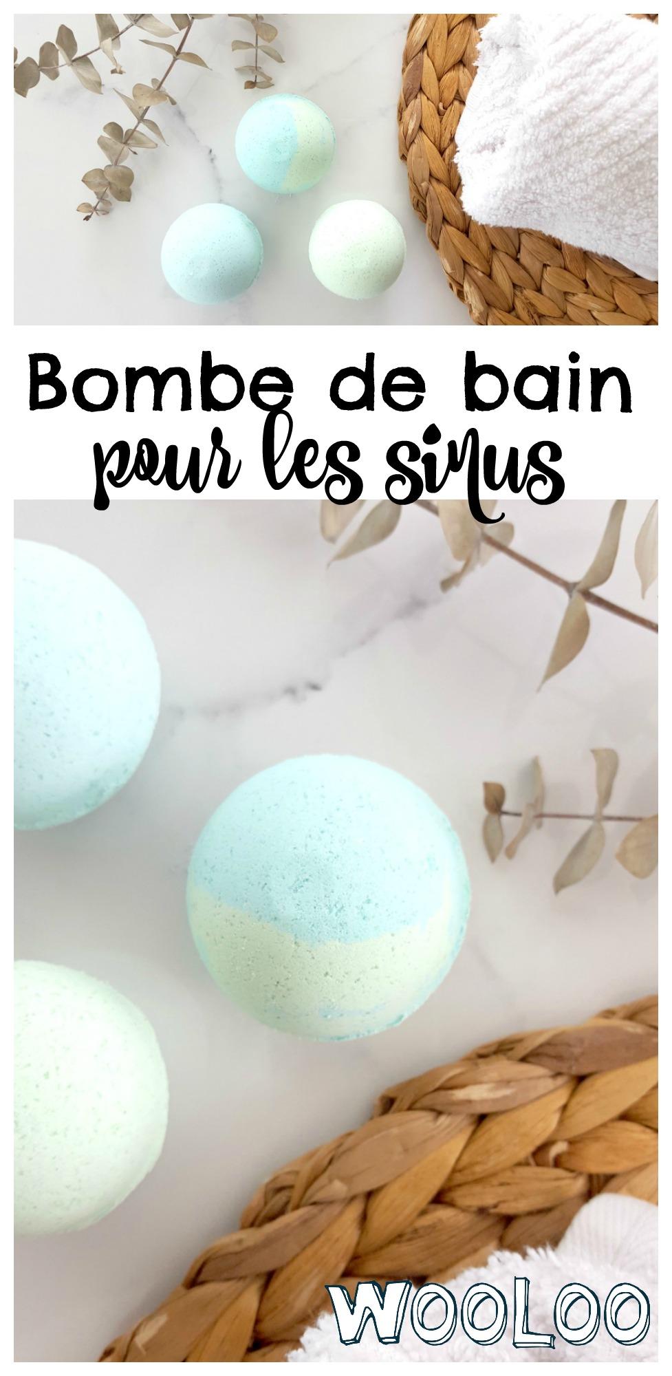 bombe de bain pour les sinus / wooloo