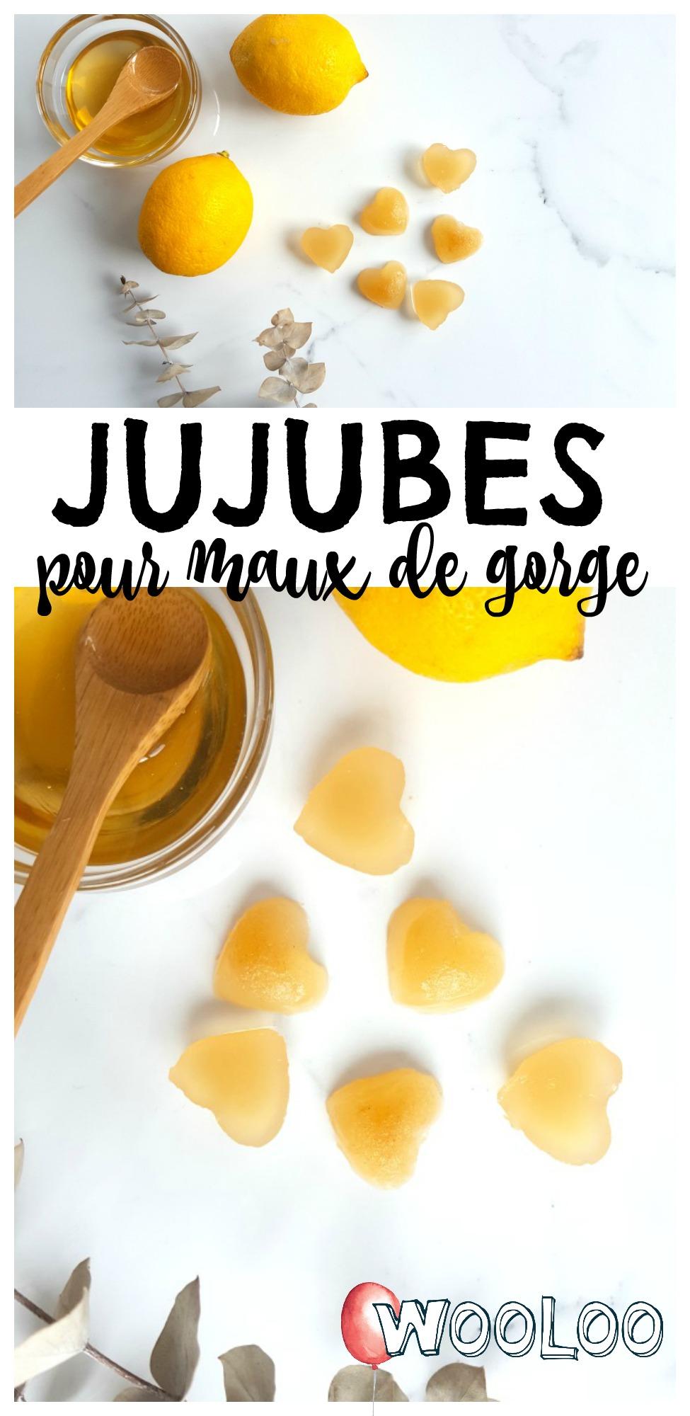 jujubes pour maux de gorge / wooloo