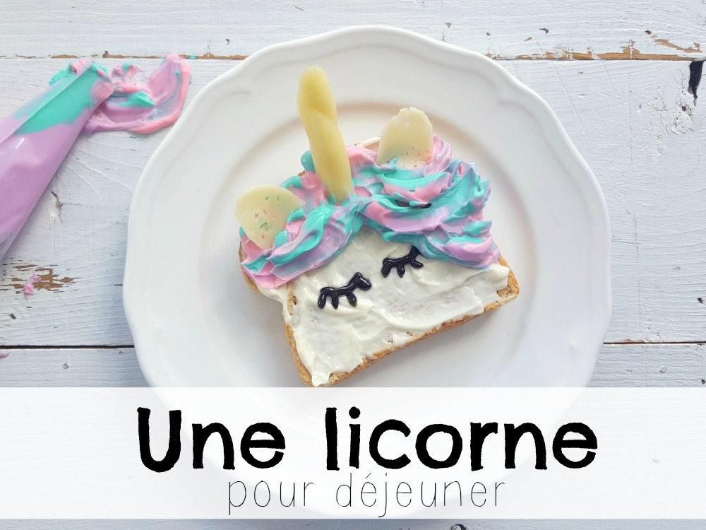 Une Licorne pour déjeuner