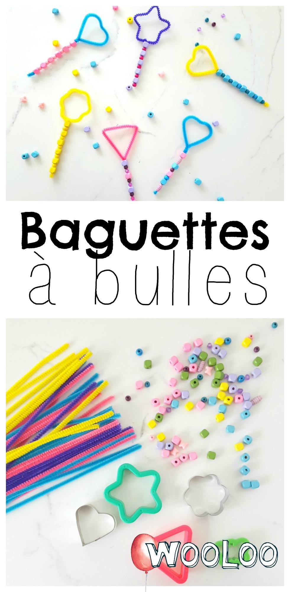 Baguettes à bulles wooloo