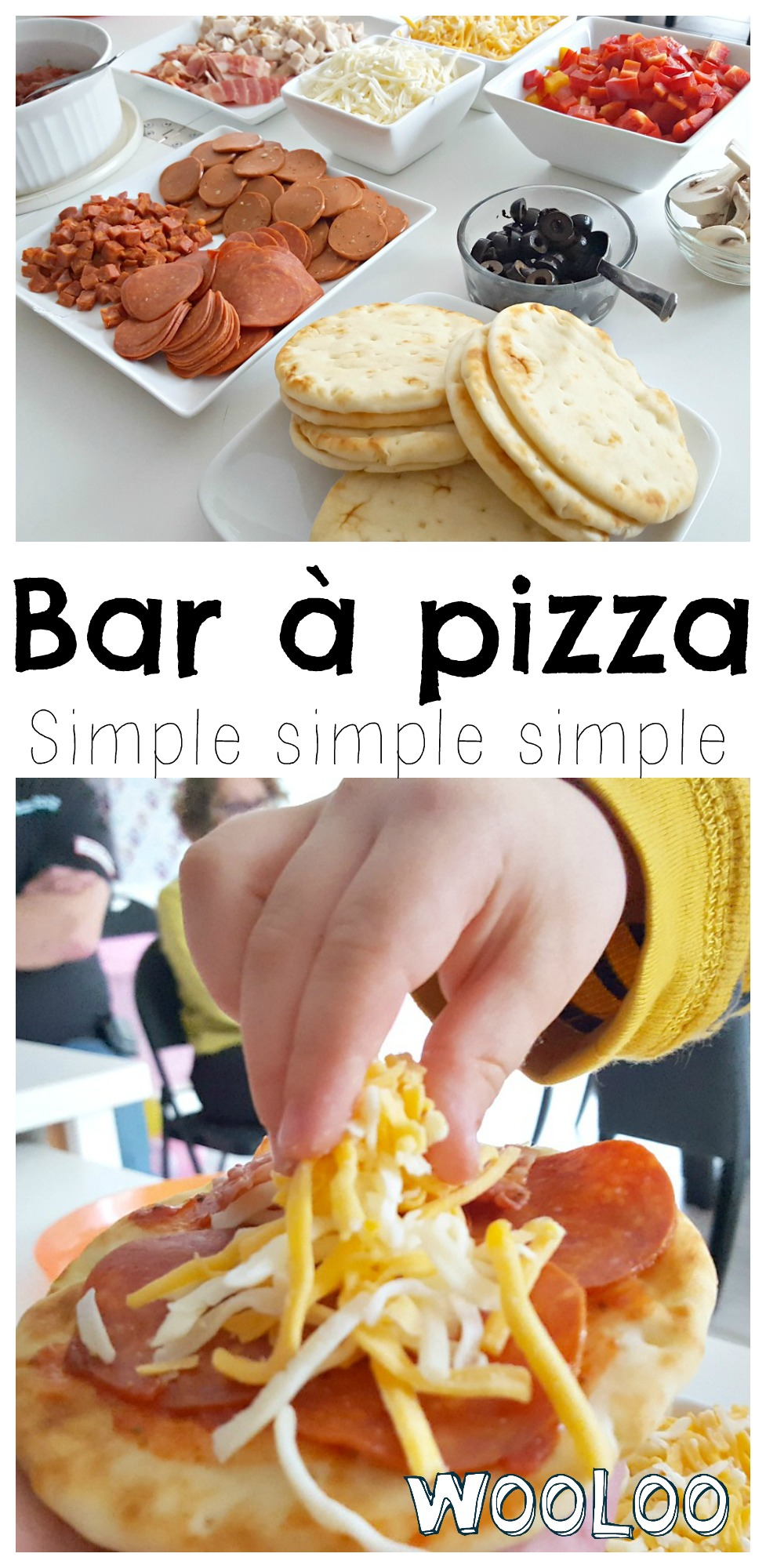 Bar à Pizza simple / simple Pizza Bar / wooloo
