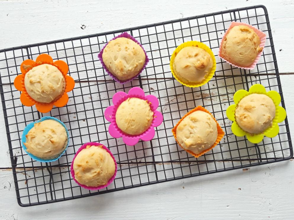 muffins à la compote de pommes wooloo