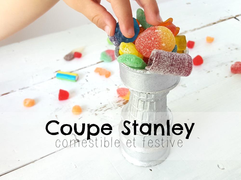 Coupe Stanley comestible et festive