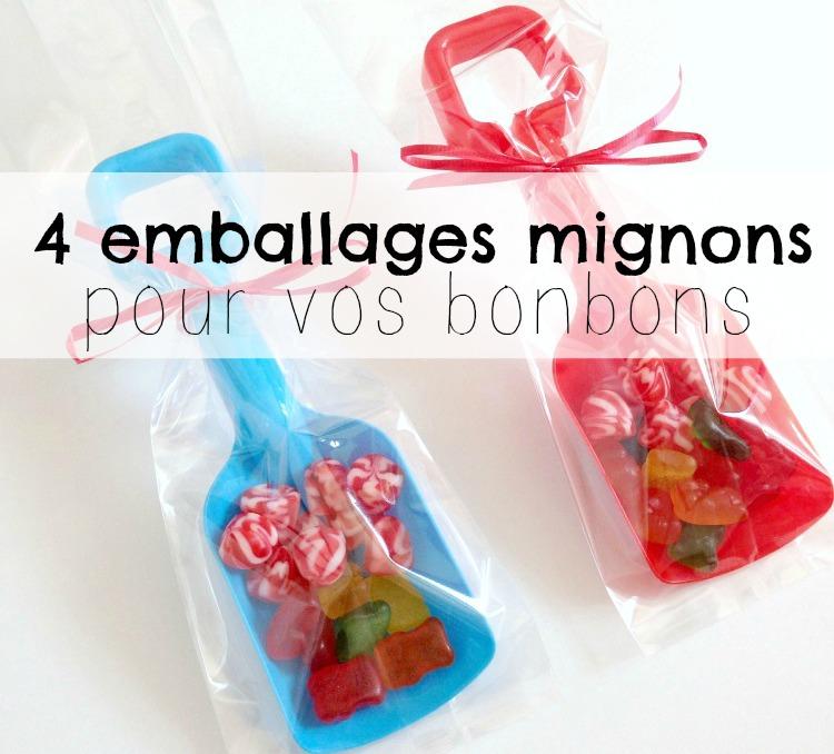 4 emballages trop mignons pour les bonbons