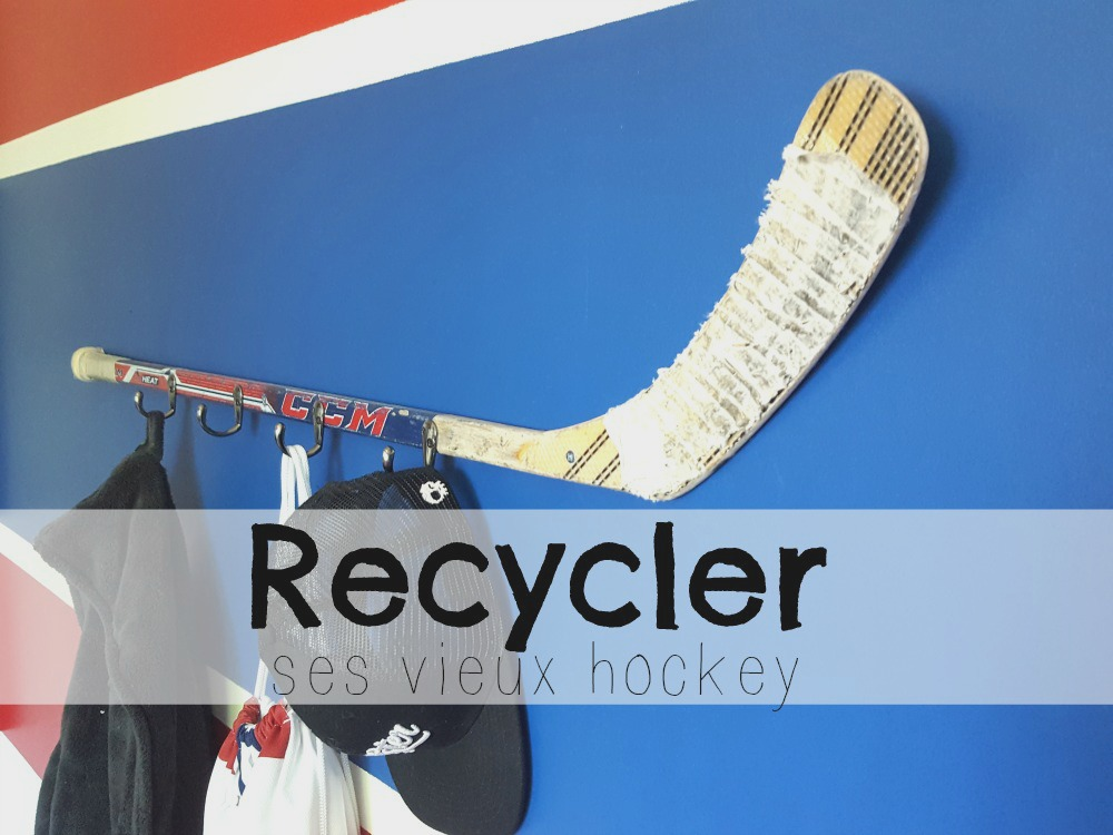 20 façons de recycler les vieux bâtons de hockey