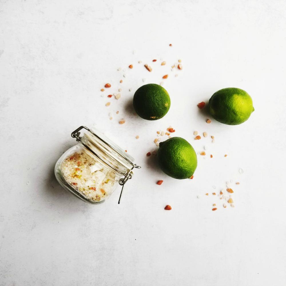 Sels de bain aromatisés DIY
