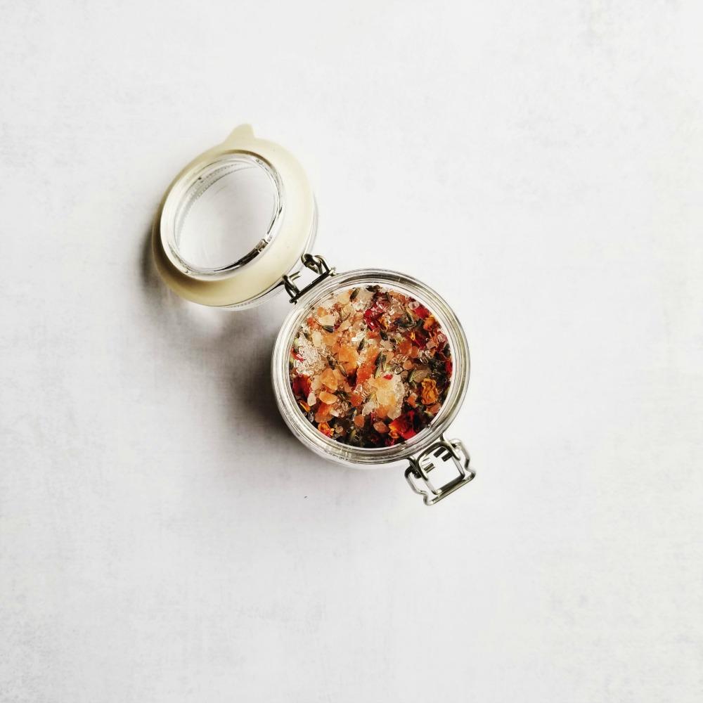 Sels de bain aromatisés DIY wooloo
