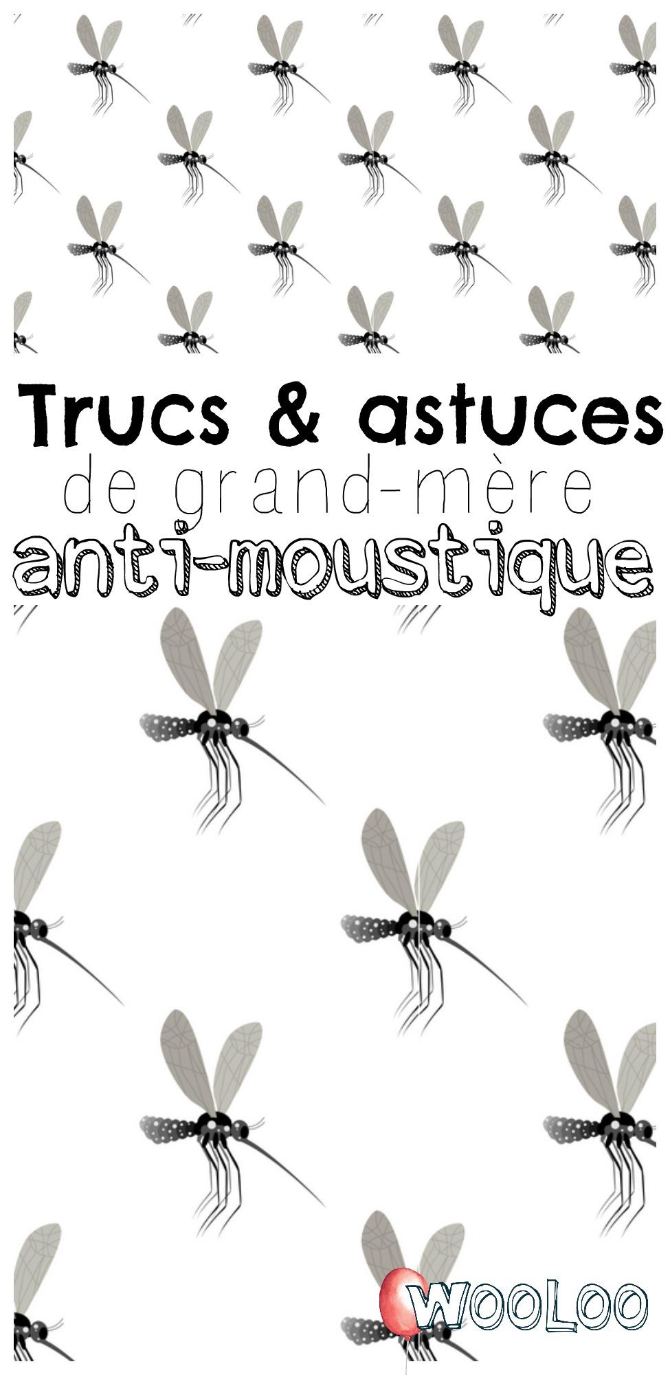 trucs et astuces de grand-mère anti-moustique wooloo