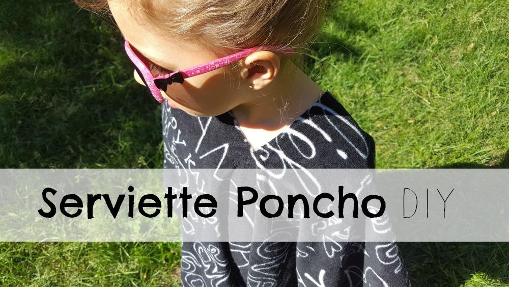 Faire une facile Serviette Poncho DIY