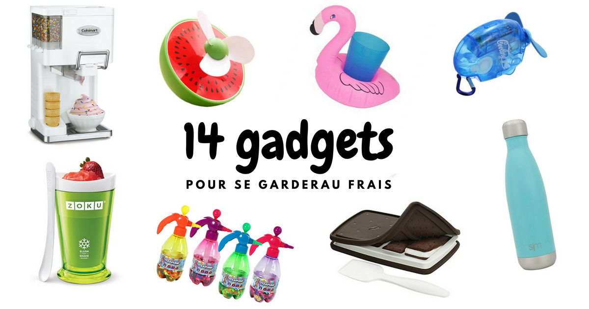14 Cool gadgets pour se garder au frais cet été