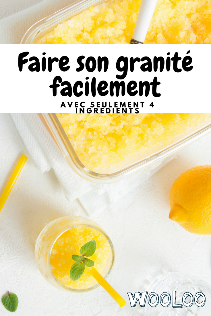 faire un granité aux fruits wooloo