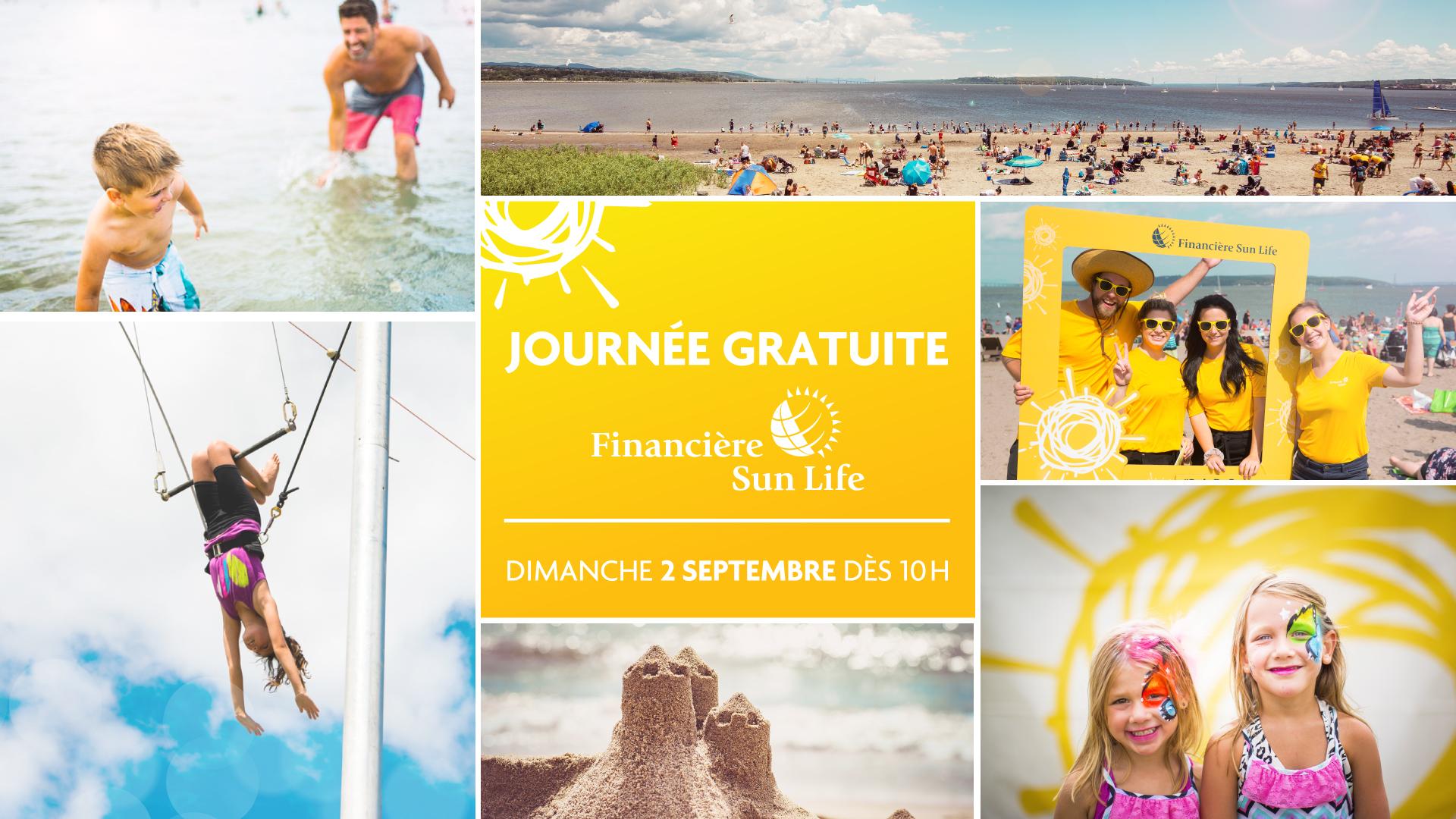 2e Journée Gratuite Financière Sun Life à la Baie de Beauport