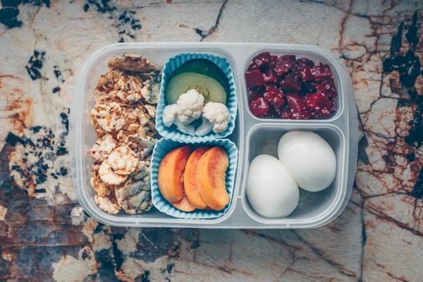 Idées pour lunch sans gluten, produits laitiers ou légumineuses