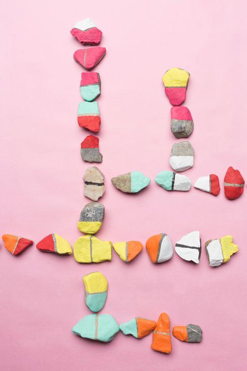 bricolage à faire avec des roches wooloo