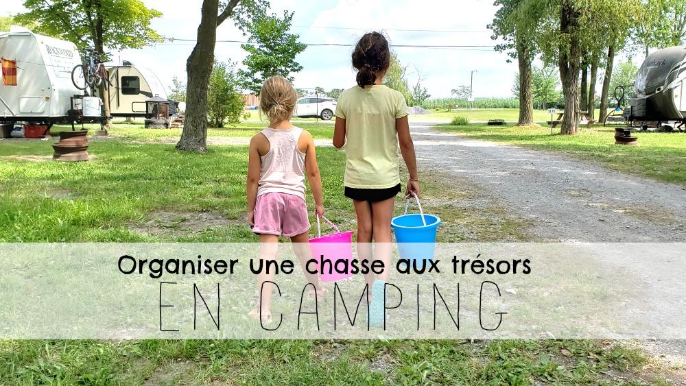 Organiser Une Super Chasse Aux Tresors En Camping Wooloo