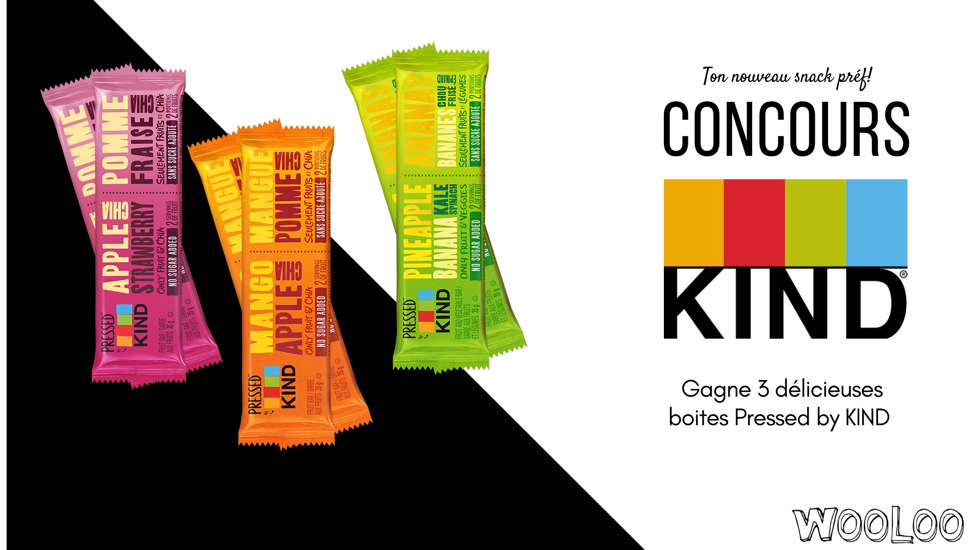 CONCOURS: Pressed by KIND