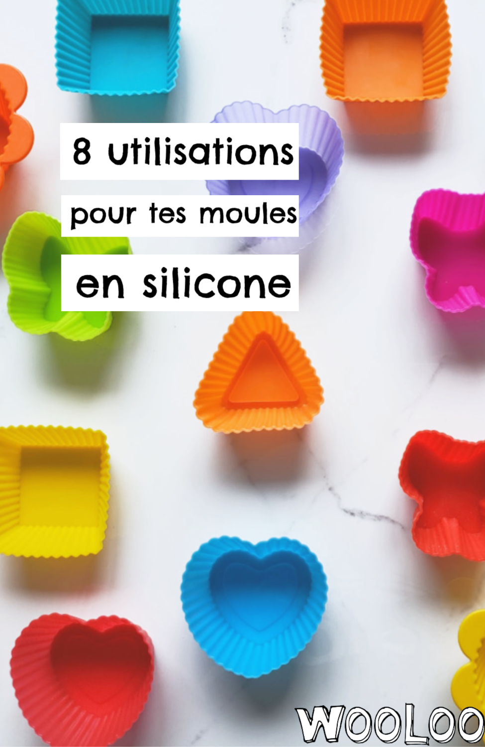 utilisations moules en silicone wooloo
