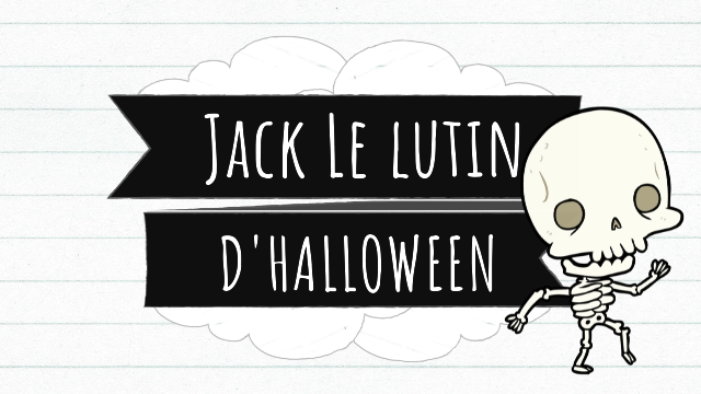 Jack le lutin d'Halloween