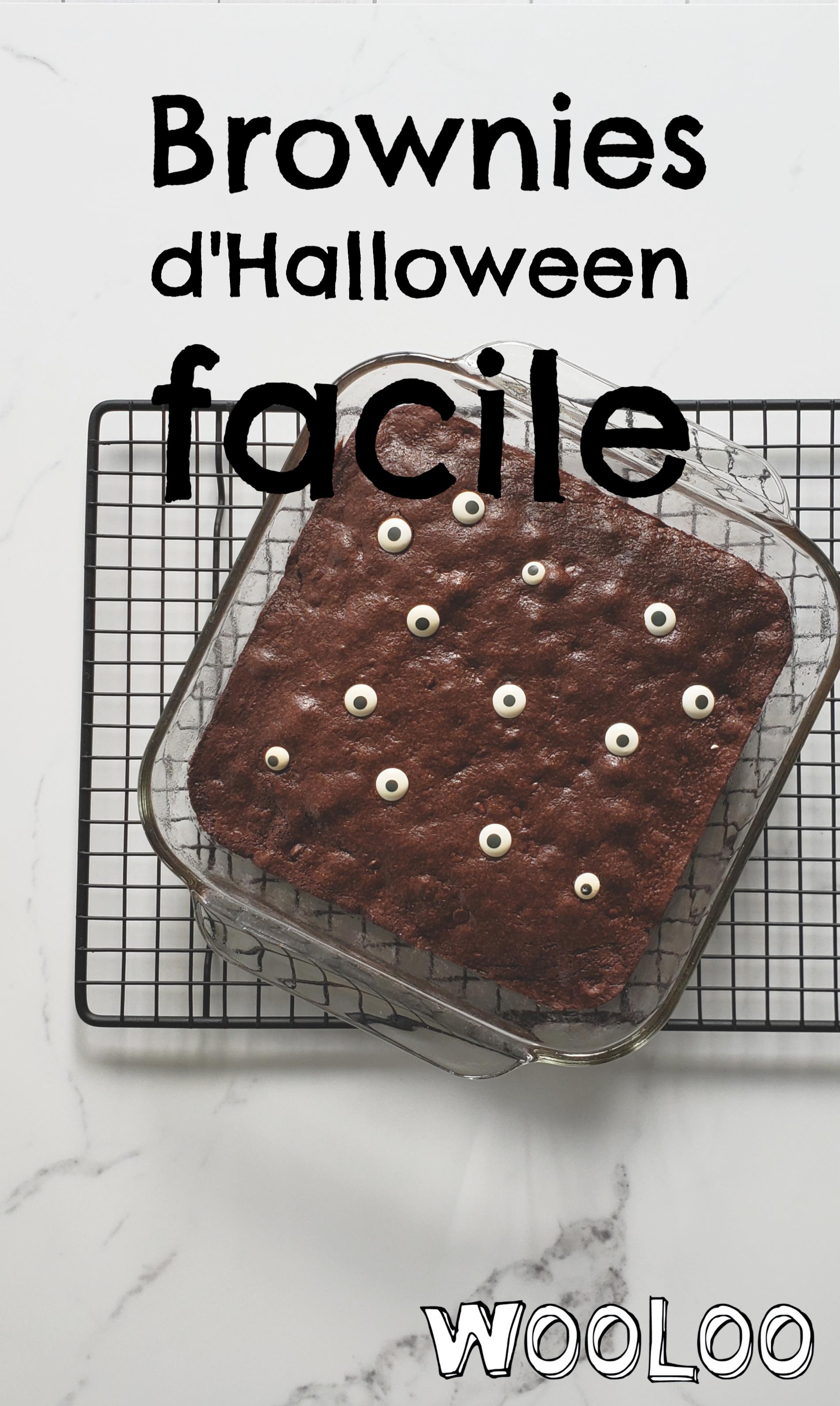 Brownies d'Halloween wooloo