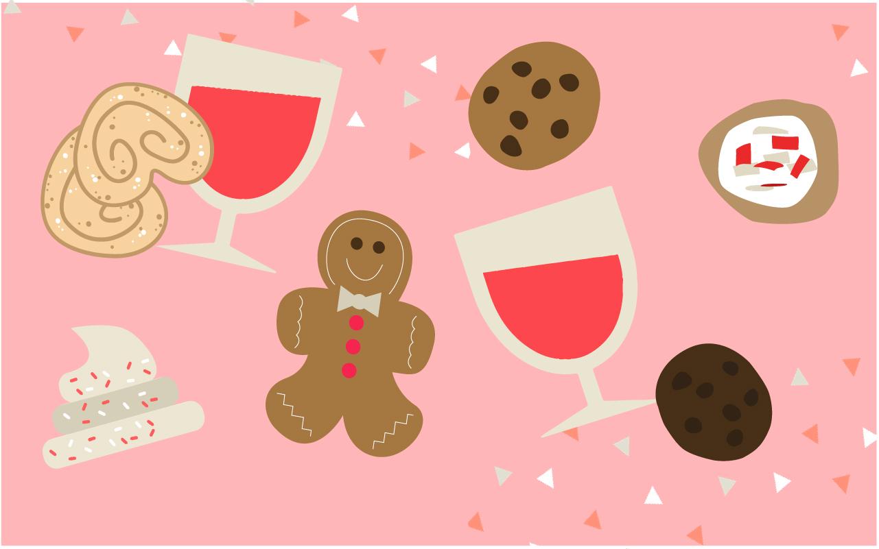 Match ton vin avec ton biscuit de Noël
