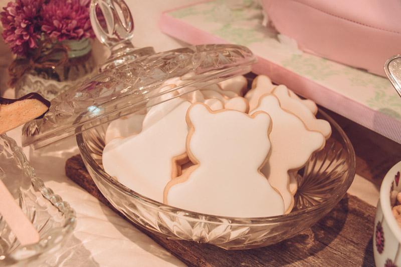 Biscuits à colorier pour party pyjama